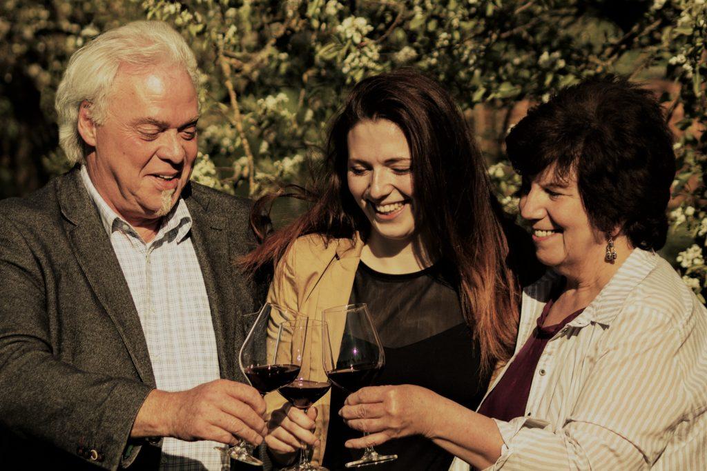 Norbert, Caroline & Thea Schardt