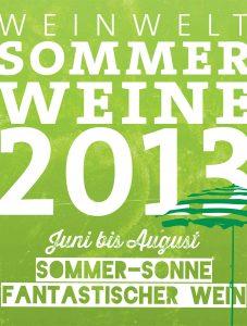 Weinwelt Sommerweine 2013